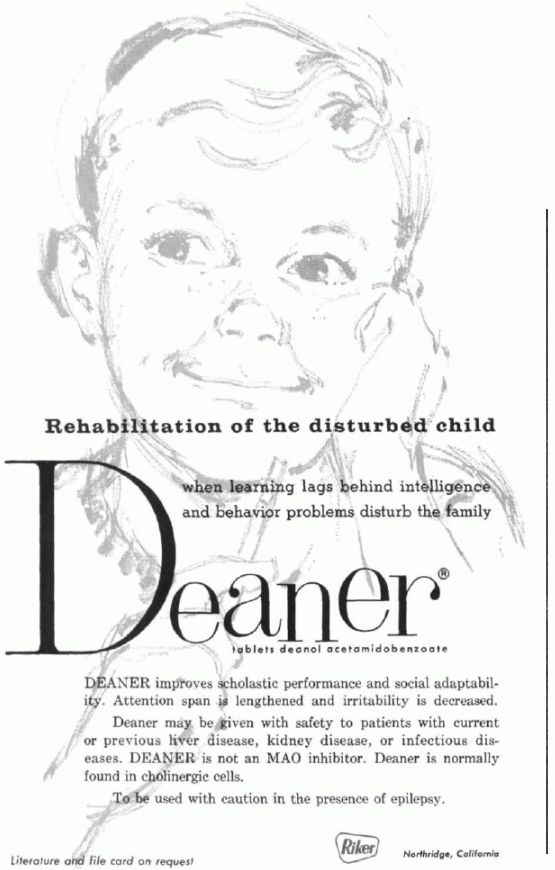 Deaner Ad -- I guess it was for not so smart mischief-makers??