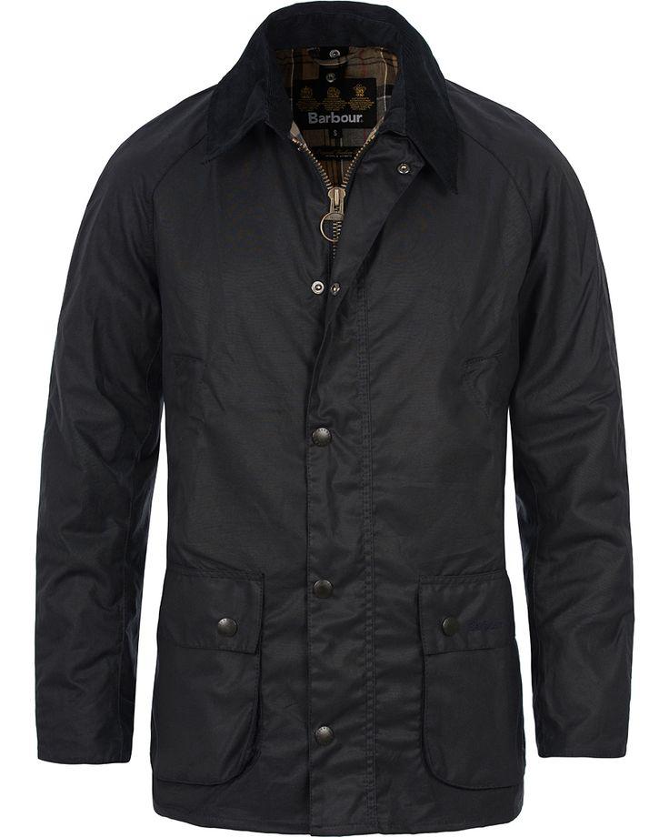 Barbour Lifestyle Ashby Wax Jacket Navy i gruppen Design A / Jakker / Oilskinsjakker hos Care of Carl (12591511r)