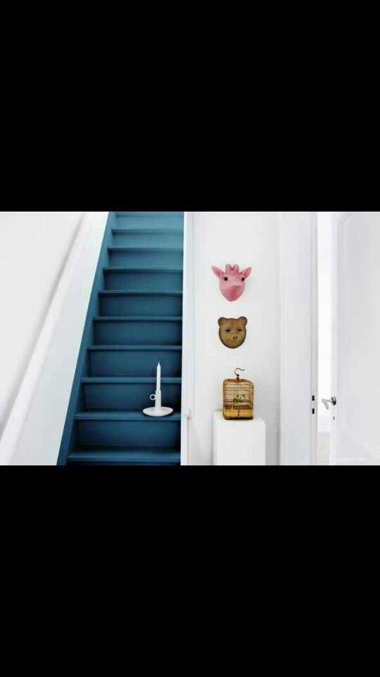 25 best ideas about trappen schilderen op pinterest verf trap geschilderde houten trap en - Kleur trap schilderij ...