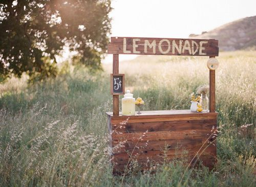 cutest lemonade stand ever