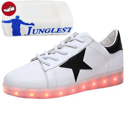 [Present:kleines Handtuch]Weiß 39 Schuhe High weise JUNGLEST Licht Blinkende Damen Neu Top Leuchtende Sneakers Led S mo1Nsjtrrm