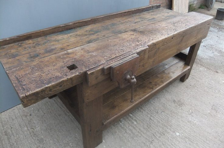 antique carpenter's work bench ***Research for possible future project.