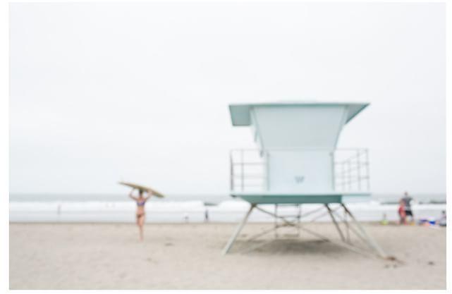 Girls Beach Bedroom Art -  Stinson Beach Framed Print by Jesse Leake (affiliate link)