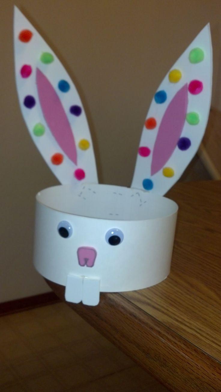 Preschool Crafts for Kids*: Easy Easter Bunny Ears ...