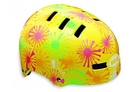 #Bell Faction Pattern BMX Helmet > Yellow - L #The ever-amazing skate-style lid for everything from BMX to beach cruisers to back-to-school. Certified for both bicycle and skate use, the versatile The Bell Faction Pattern BMX Helmet sets a new standard in skate-inspired helmets with superior style fit and comfort. As ridden by a whole host of BMX and Skate Super Heroes, the Faction is perfect for street, dirt, or riding ramps.