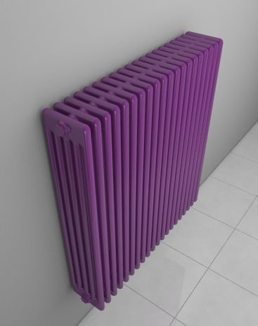 AQUA V.: Column radiator with maximum heat output. Bespoke radiator. Popular at reconstructions. Available in 216 colours and textures.The column radiator is similar to other radiators from this product group. Delivery: 6 weeks.