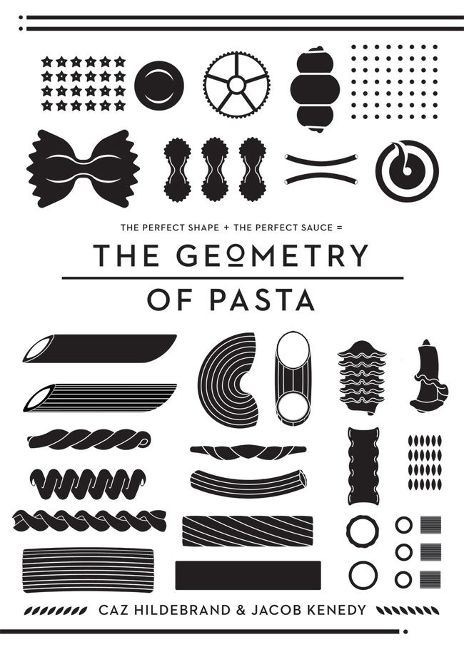 A superbly designed book about pasta.