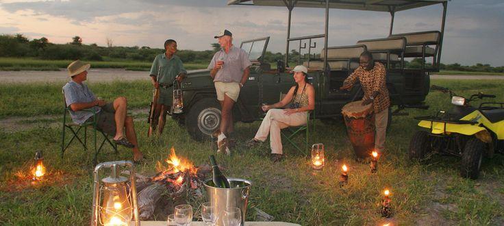 #Safari #Sundowners at Haina Kalahari Lodge