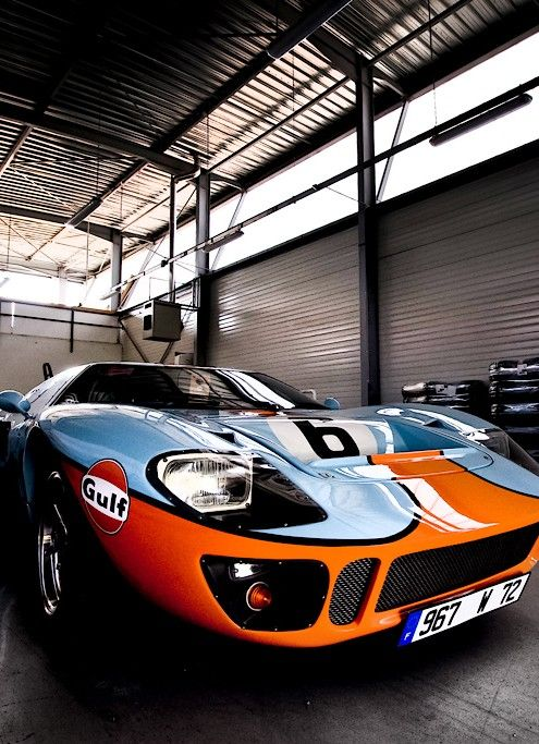 The GT40 and Gulf combo!