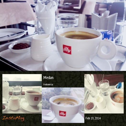 "Take your time to enjoy ""Illy Coffee"" at The Kitchen or Pool Cafe Hotel Aryaduta Medan"