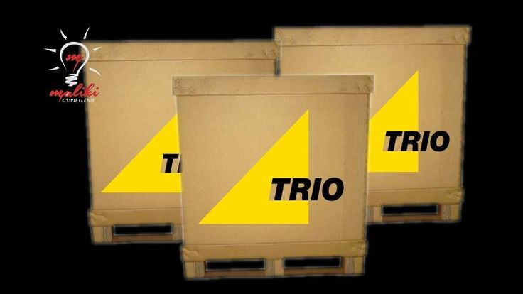 Oświetlenie outlet-od producenta Trio-na paletach z Niemiec-Hurt-prosto z fabryki bez pośredników-okazja
