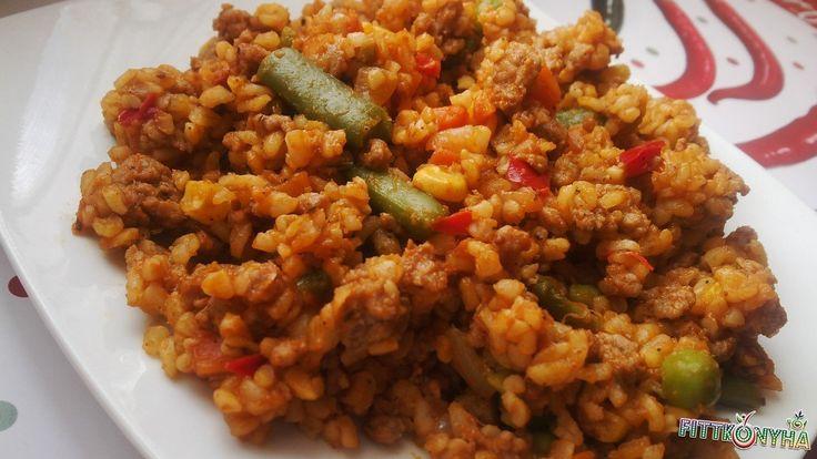Mexikói chilis bulgur