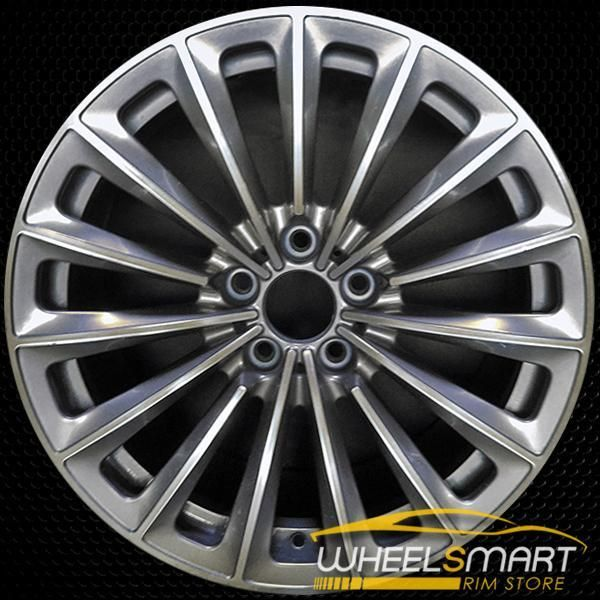 19 Bmw 535i Gt Oem Wheel 2010 2017 Silver Alloy Stock Rim 71331