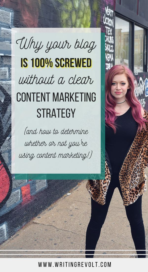 Think you can write any ol' blog posts and grow an audience and income? Not quite. You need to learn content marketing to succeed. Click to learn why. | content marketing tips | blogging tips | blogger | creative entrepreneur | content strategy |