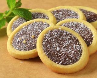 Tartelettes Nutella® et coco : http://www.fourchette-et-bikini.fr/recettes/recettes-minceur/tartelettes-nutellar-et-coco.html