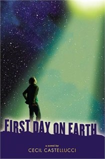 First Day On Earth - Cecil Castellucci  Mal lives on the fringes of high school. Angry. Misunderstood. Quiet, but with a lot of words underneath.Seven years ago, Mal disappeared for three days. Everyone tells him it was a breakdown, a seizure, something medical. He thinks it was something different. An alien abduction.But there's no way for him to know for sure. -OLA