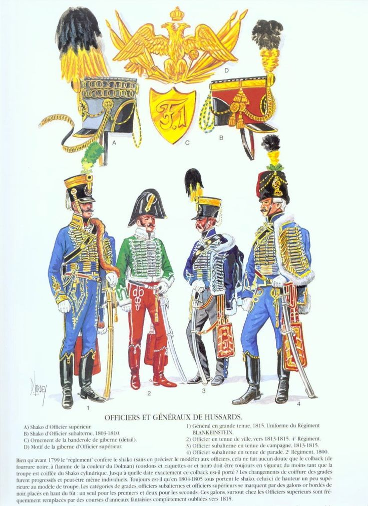 Hussars Uniform Page 5 Armchair General And Historynet