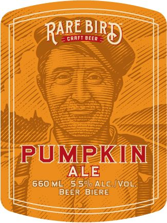 We're in Halifax to deliver our new Rare Bird Craft Beer Pumpkin. Read more about this delicious, crisp ale at http://www.rarebirdbeer.com/our-beer