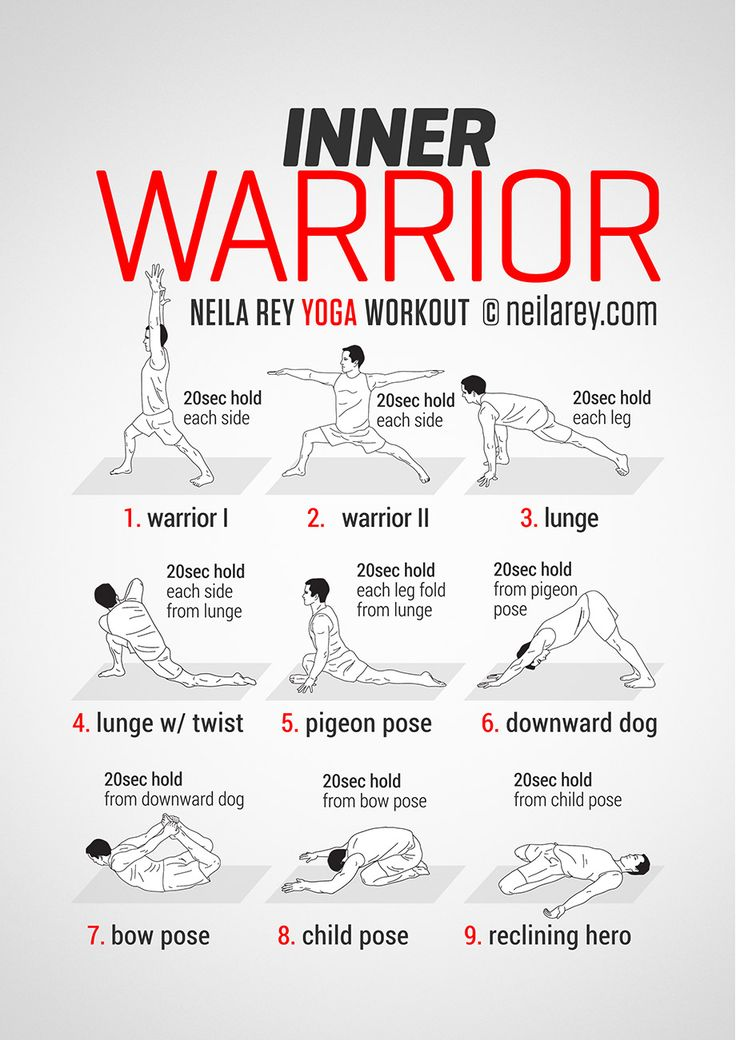 Inner Warrior Workout - Tuesday / Thursday workout Remarkable stories. Daily