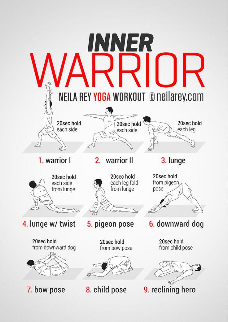Inner Warrior Workout - Tuesday / Thursday workout