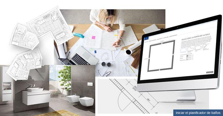 Planee la reforma de su baño con el planificador de baños online