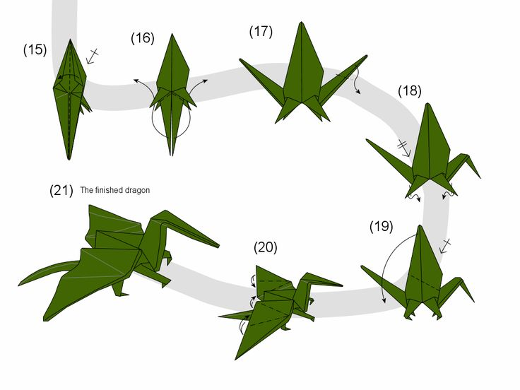 neat origami dragon instructions. If you decide to do this I could probably make a bunch and mail them in a big box