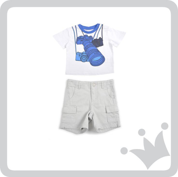 #Leblon Combinación de prendas inspiradoras  para los artista y aventureros, #BabyPhotographer.