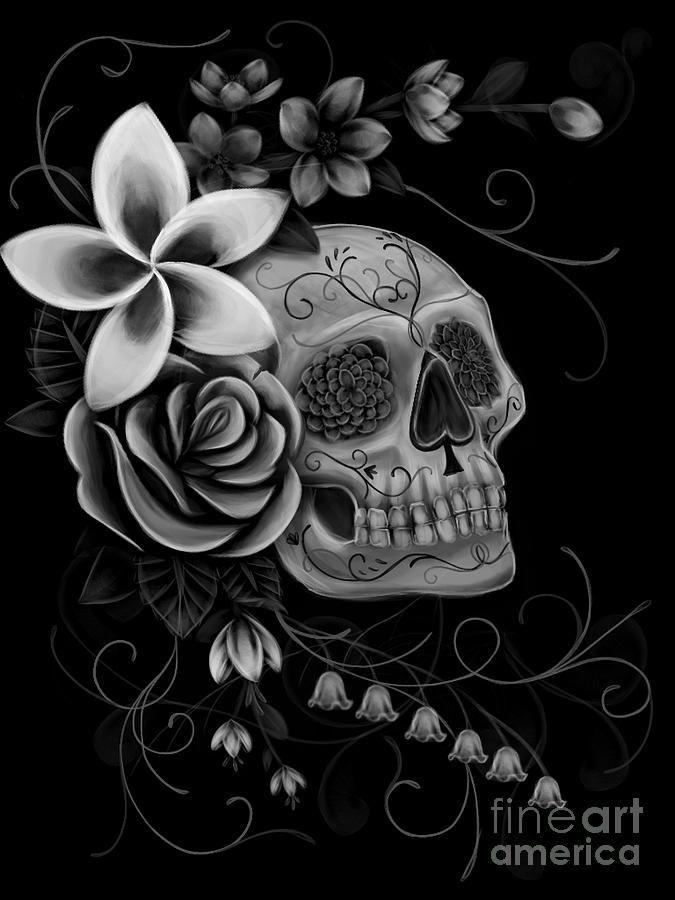 Dia De Muertos Digital Art by Melissa Senesac - Dia De Muertos Fine Art Prints and Posters for Sale