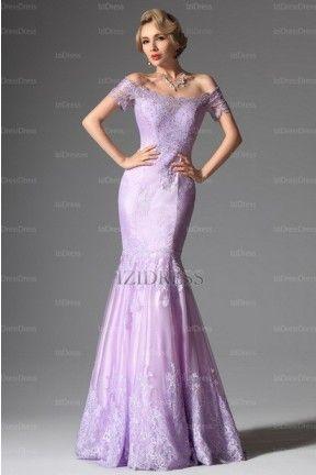 Trumpet/Mermaid Off-the-shoulder Lace Evening Dress - IZIDRESSES.COM at IZIDRESSES.com