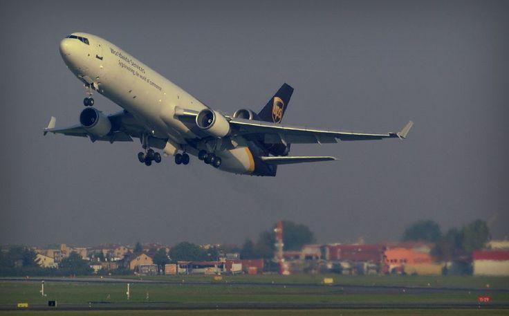 MD-11 tuż po starcie. Fot Krzysztof Ciszewski