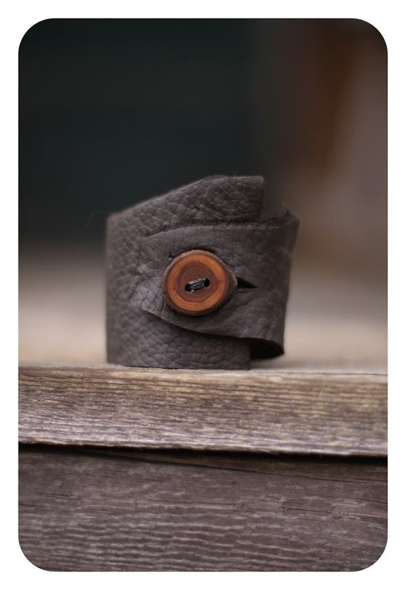 Leather Bracelet Leather Jewelry Leather by CircleofLifeLeather, $20.00