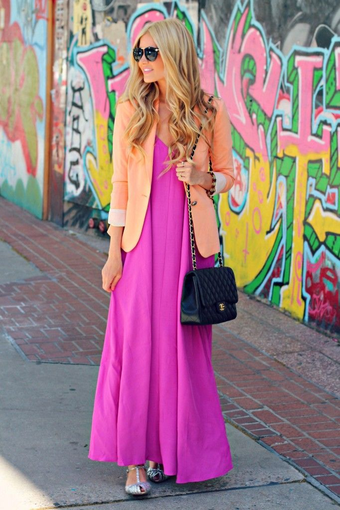 hot-pink-dress-and-flats