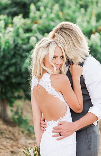 Savannah and Cole LaBrant's Gorgeous Blush Wedding ceremony
