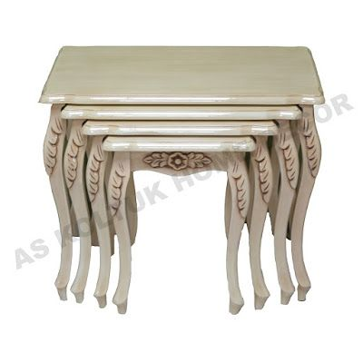 AS Koltuk Home Decor: For Sale - Beige Gold Color Classic Side Tables