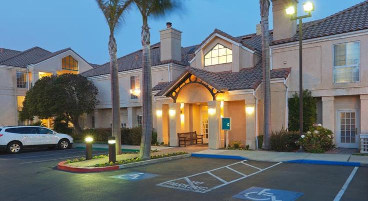 Staybridge Suites San Francisco Airport San Bruno A few minutes from San Francisco International Airport with free airport shuttles, this hotel offers all-suite accommodations furnished with full kitchens and is a short drive from the downtown area.