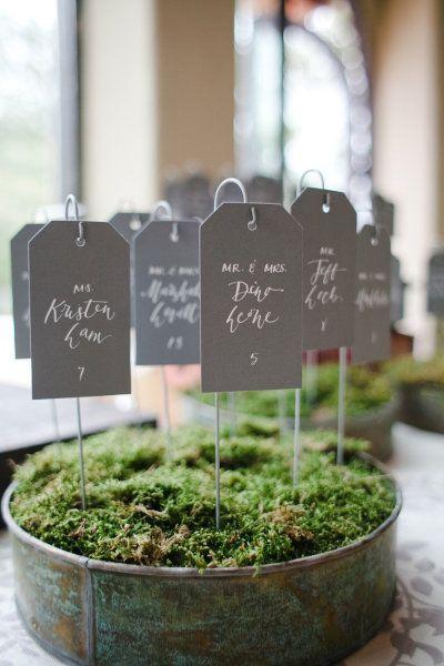 10 Idées pour décorer son Plan de table Mariage, place your guest, find your seat, table mariage, wedding, decoration