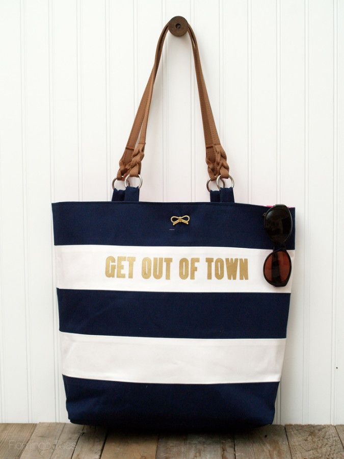 Nautical Kate Spade Knock Off Bags Summer And Sew Bags