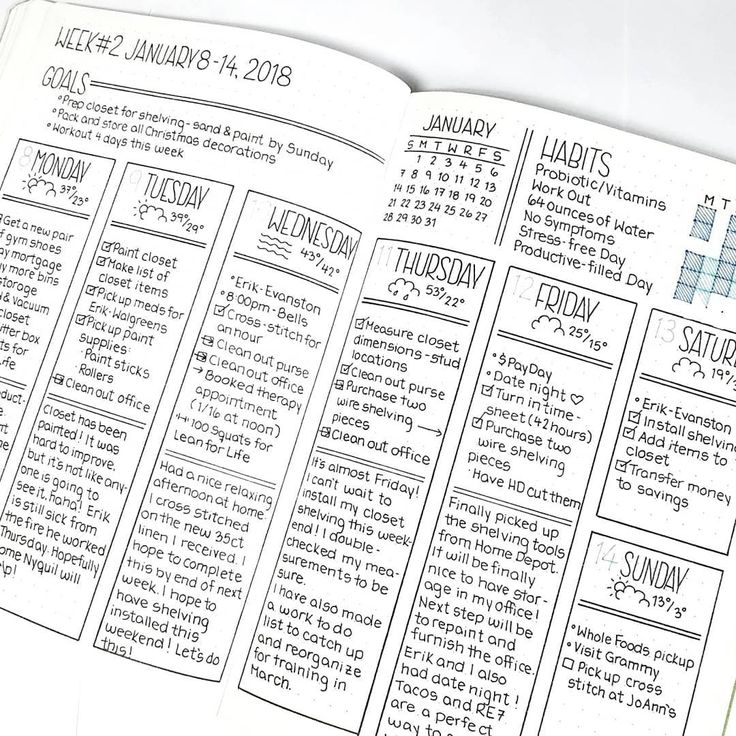 Best Bullet Journal Page Ideas Images On   Note