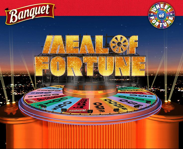 I just played the Banquet Meal of Fortune Instant Win Sweepstakes by entering a code and spinning the wheel and you could too! Look for specially marked Banquet meals or learn more at www.banquet.com/WheelOfFortune. No purchase necessary.