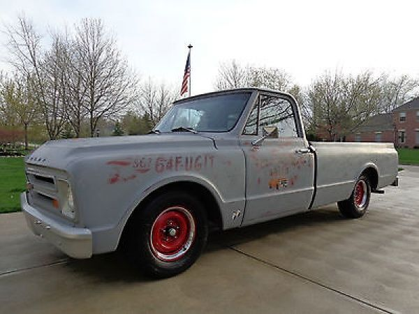 Chevrolet: C-10 Long Bed Pick-up 1967 chevy c 10 350 th 350 clean and soild well built western body