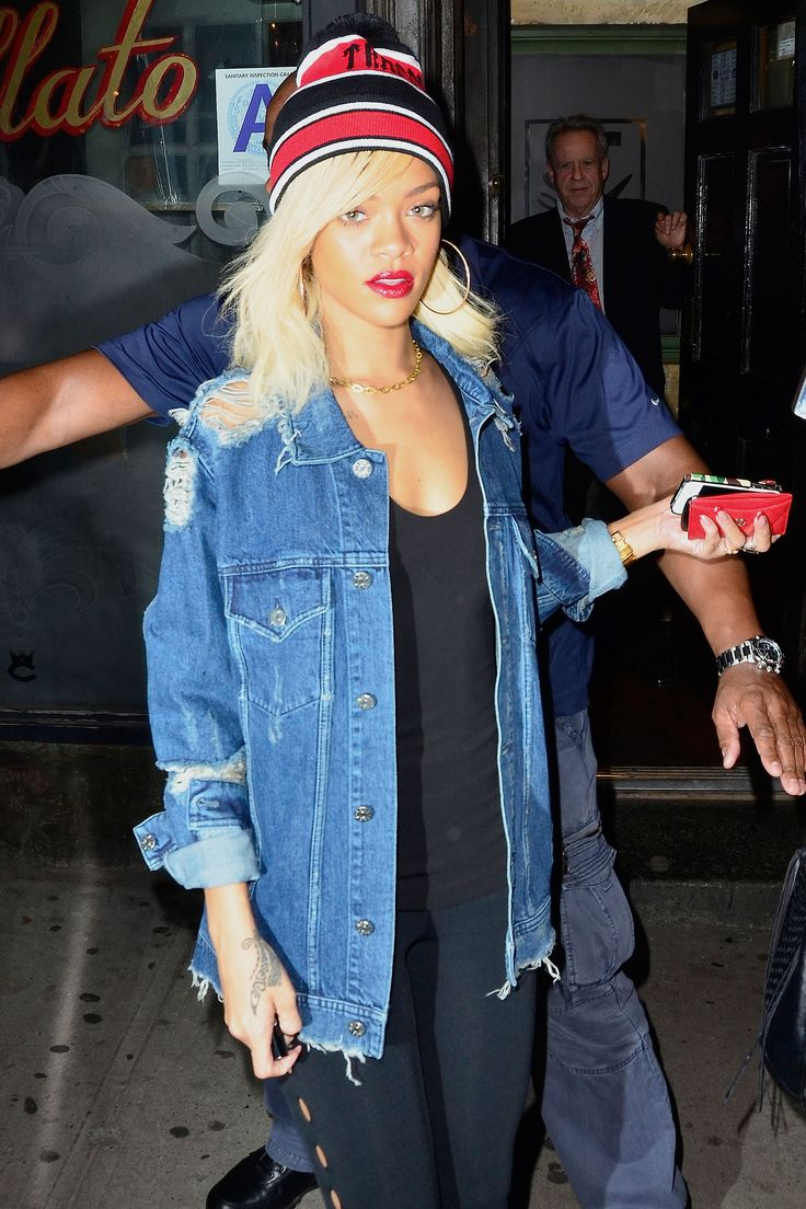 The denim jacket is a classic staple of fashion girls everywhere. Click here to follow along on its laidback journey.