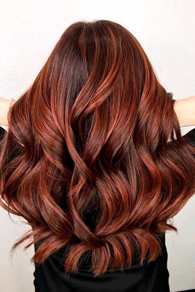 Red Hair Color Highlights 401065 60 Auburn Colors To Emphasize Your Individuality
