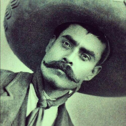 Emiliano Zapata, from peasant to the main leader of the revolution in the state of Morelos, Mexico.