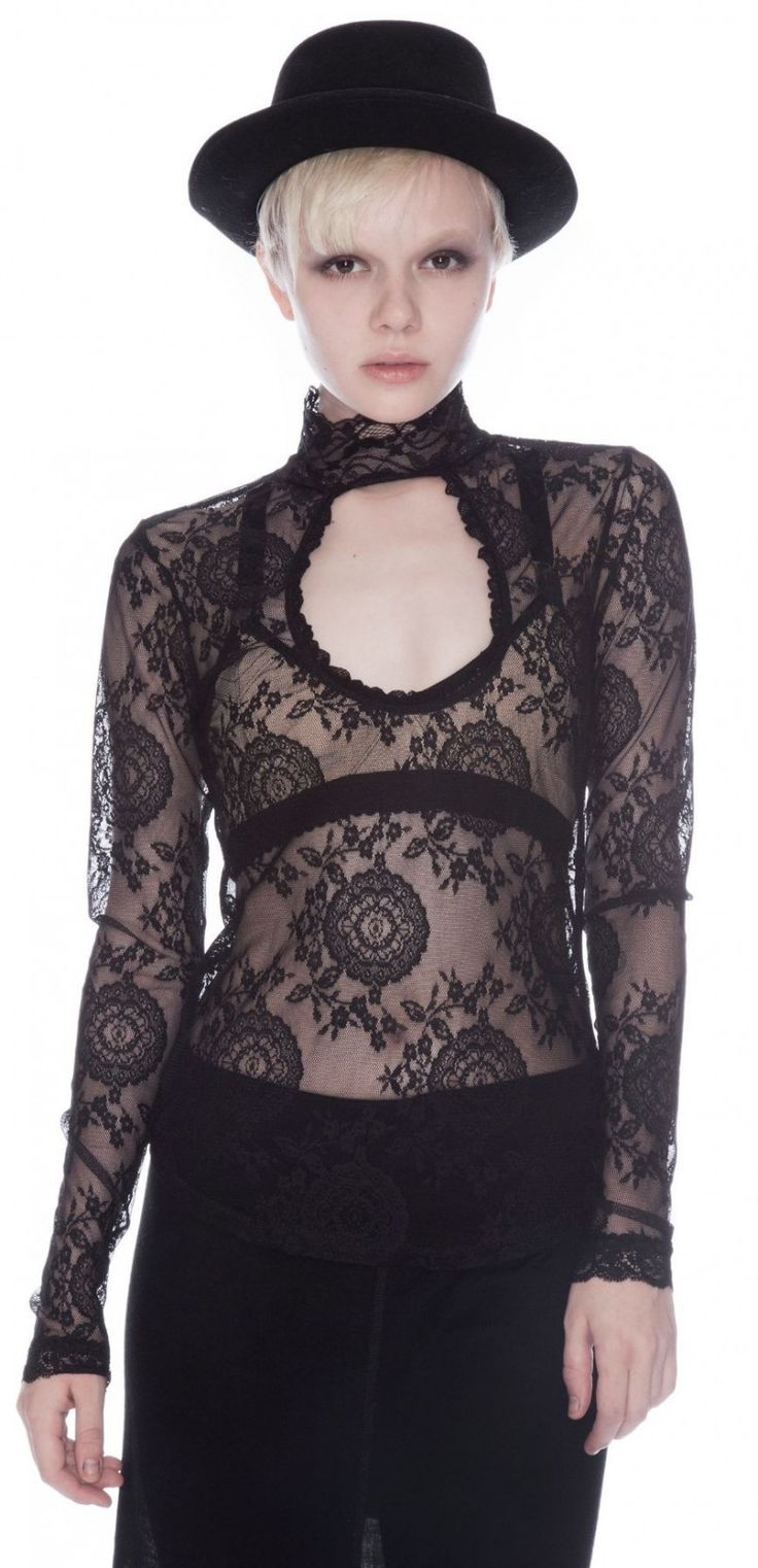 Lace Tops With Sleeves 2