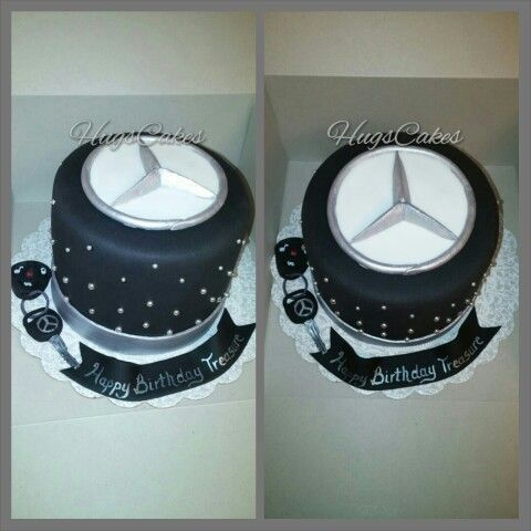Mercedes logo cake cakes pinterest logos and cakes for Mercedes benz cake design
