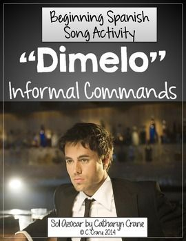 """Spanish Song: """"Dimelo"""" Spanish Tu Commands"""