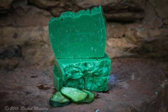 Check out this item in my Etsy shop https://www.etsy.com/listing/482838088/cucumber-melon-goats-milk-soap