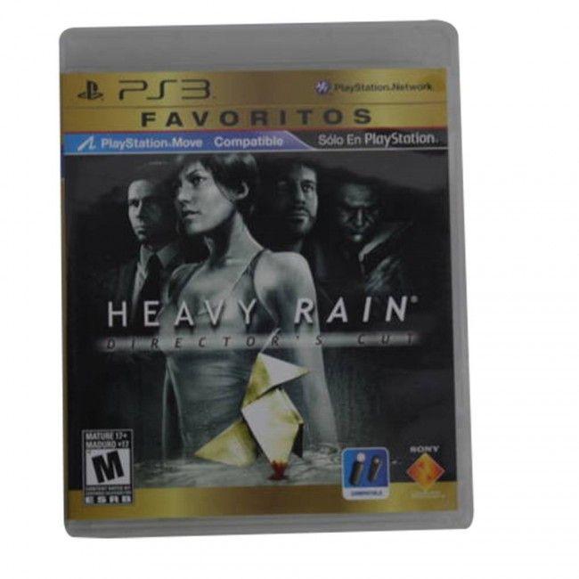 Juego PS3 Heavy Rain Original - Juegos de Consola - TV, Consolas y Juegos - Tecnología - Sensacional