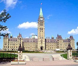 The Parliament of Canada is composed of three parts: the monarch, the Senate, and the House of Commons. Each has a distinct role, but work in conjunction within the legislative process.