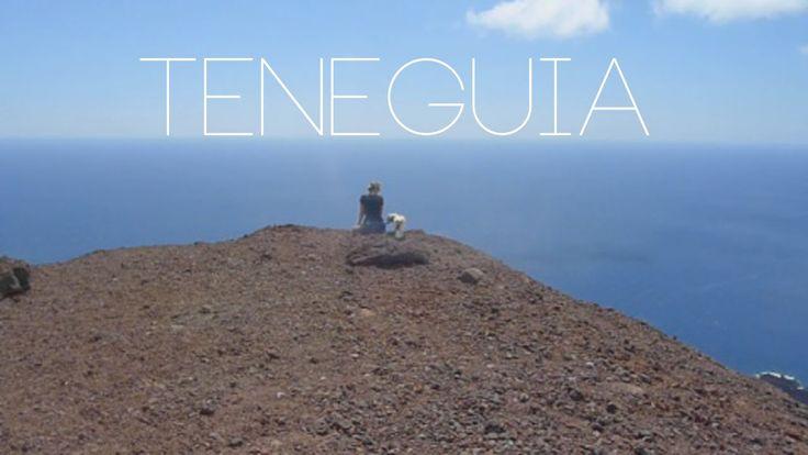 Wandeling in het zuiden van La Palma naar de top van de Teneguia